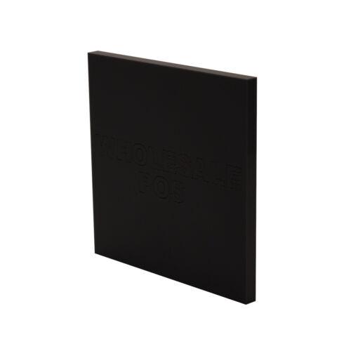 Plastique Perspex Acrylique Couleur Transparent Miroir Teintée Givré Feuille