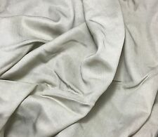Beige - WOOL Suiting Fabric 1/4 yard remnant