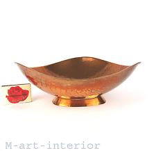 Kupfer Schale Zint Handarbeit Mid Century Buchrucker Hagenauer Era copper bowl