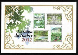 Bloc-Feuillet-2012-N-132-Timbres-France-Neufs-Le-Salon-du-Timbre-2012