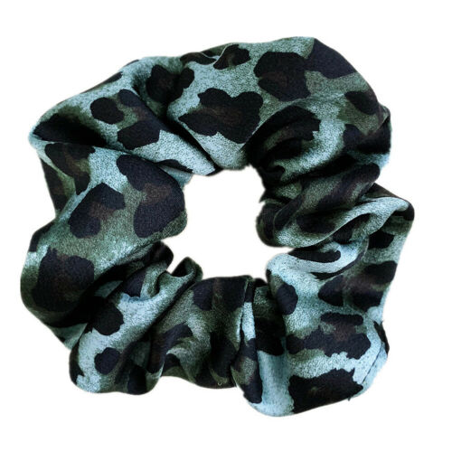 New-eb Animal Print Scrunchie Ponytail Holders Hair Ties Hair Bands Hair Bobble