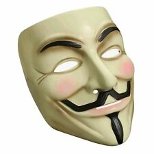 V per Vendetta - V For Vendetta - Original Mask Anonymous Cosplay Licensed