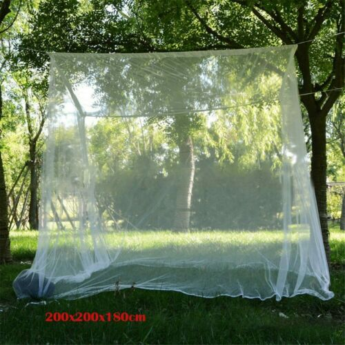 Camping Mosquito Net Large White Outdoor Storage Bag Insect Tent Mosquito Net