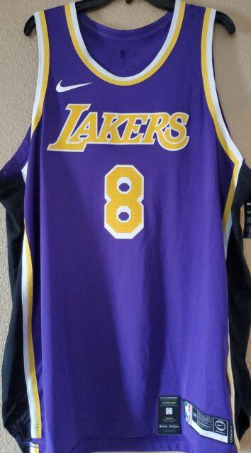 Nike NBA Authentic Jersey Kobe Bryant 8 Los Angeles Lakers ...