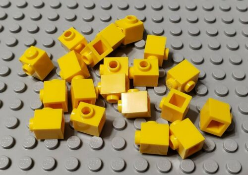 LEGO New Lot of 20 Yellow 1x1 Bricks with Side Stud Creator