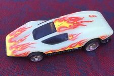 Hot Wheels Silver Bullet 1997 Volcano Blowout Playset glow in the dark