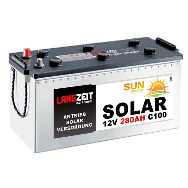 100% Waar Langzeit Solarbatterie 280ah 12v Solar Antrieb Beleuchtung Boot Batterie Akku