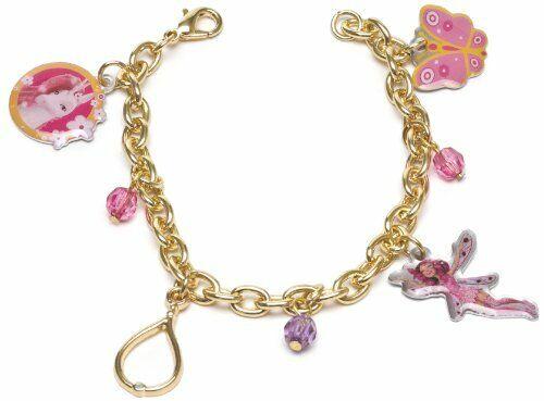 Joy Toy 118073 Mia and Me Bracelet with Metal Pendants on Backer Card