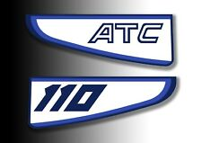 ATC 110 1981 Rear Stickers Mud Guard Fender Honda Trike Decals