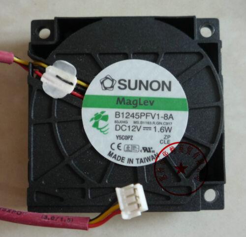 1pcs SUNON B1245PFV1-8A 4510 12V 1.6W fan