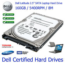 "160GB Dell Latitude D620 2.5"" SATA Laptop Hard Disk Drive Upgrade"
