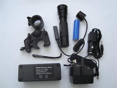cluson Clulite  Rechargable Led Pistol Lamp PLR-400 With Filter Set