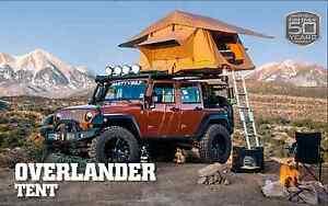 ... Smittybilt-2783-Overlander-Roof-Top-C&ing-Tent-w- & Smittybilt 2783 Overlander Roof Top Camping Tent w/Ladder Jeep ...