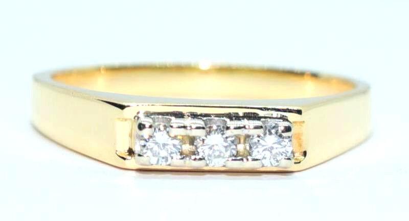 Vintage Diamond Ring 18ct Yellow & White gold
