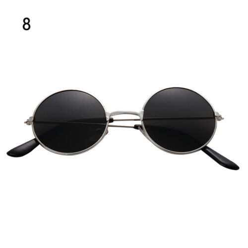 Color Film Streetwear Round Sun Glasses Children Sunglasses Retro Eyewear