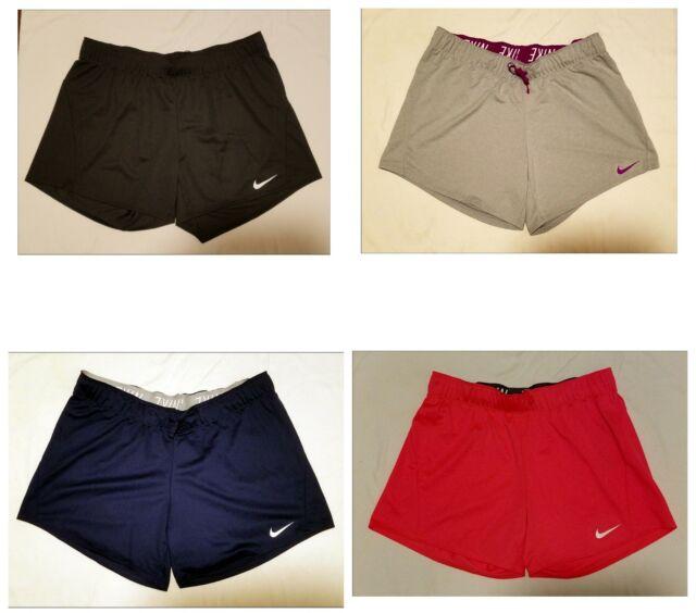 bbd0c9d2100623 New NIKE Dri-Fit Athletic Gym Workout Shorts Drawstring Women Sizes XS S M  L XL