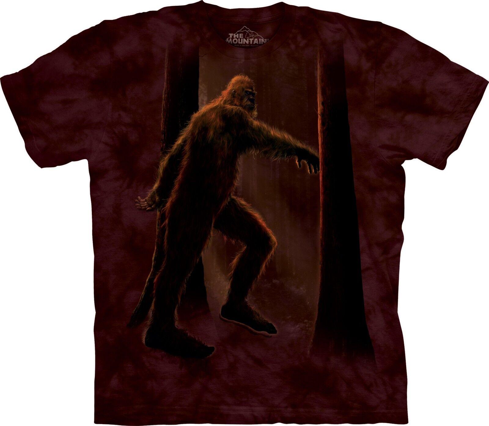 Bigfoot T Shirt Adult Unisex The Mountain