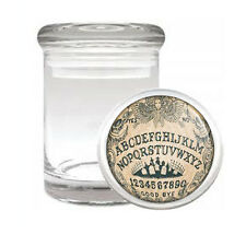 OUIJA BOARD D3 ODORLESS AIR TIGHT MEDICAL GLASS JAR CONTAINER OCCULT WITCHCRAFT