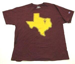 Champion Arizona State Sun Devils Shirt Size XL 1X THE DEVIL WENT DOWN TO TEXAS