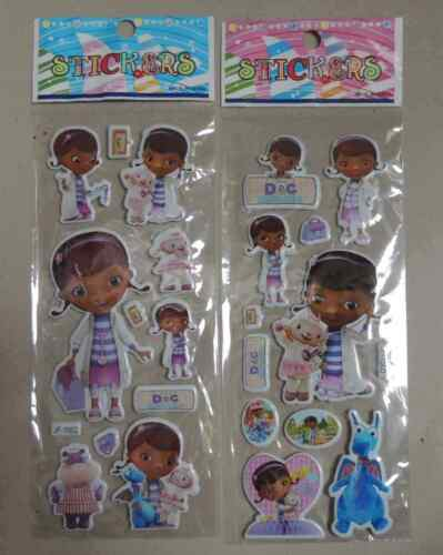 DOC MCSTUFFINS STICKER DOCTOR NURSE PARTY LOOT LOLLY BAG TREAT BOX FILLER GIFT