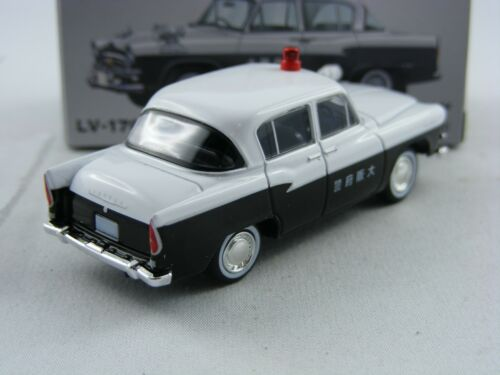 Toyota Patrol FS20 Polizei Osaka Tomica Tomytec Limited Vintage LV-170a,1//64