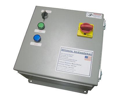 Elimia DOL Start//Stop//LED Motor Starter 230V Coil  9-13 Amp 3 HP Waterproof !