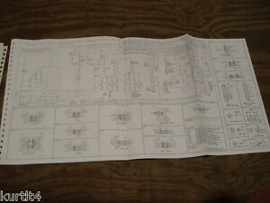 1984 Lincoln Mark Vii Continental Wiring Diagram Schematic Sheet Service Manual Ebay