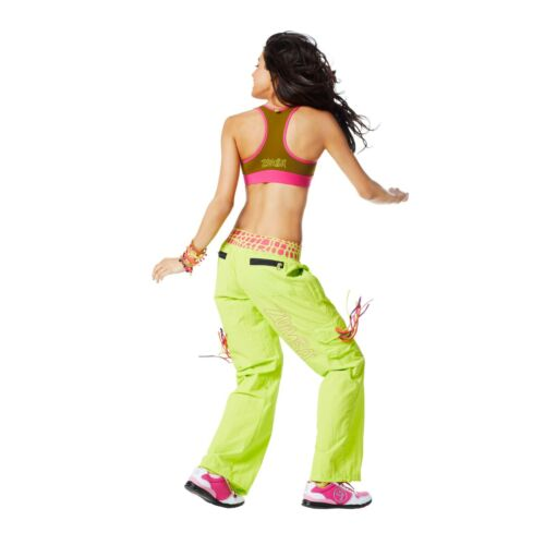 ZUMBA DANCE FITNESS CARGO CAPRI PANTS Harrods fr.UK Convention RARE M,L,XL,XXL