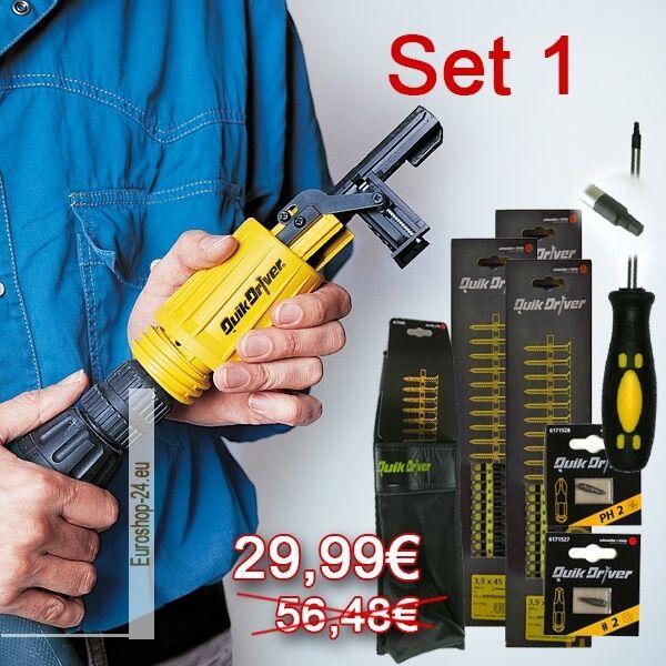 3000 Schrauben (4x45mm) + Schraubenzieher + Bit kreuz + ....