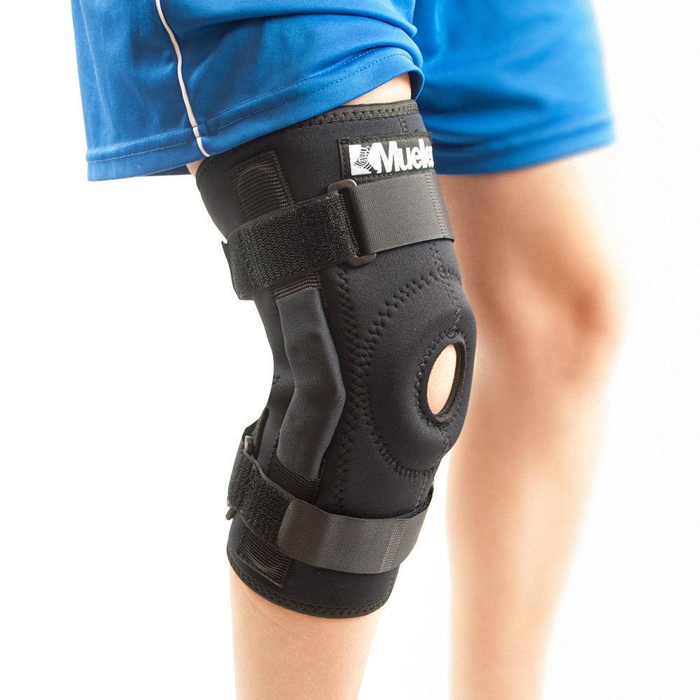 Mueller Sports 2333 Hinged Knee Brace Patella Support Knee Cap Predection SALE