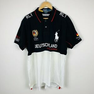 Ralph-Lauren-Team-Racing-Germany-2011-Mens-Polo-Shirt-Size-2XL-Limited-Edition