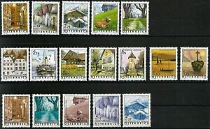 Osterreich-aus-2002-2003-postfrisches-Lot-Ferienland-Osterreich