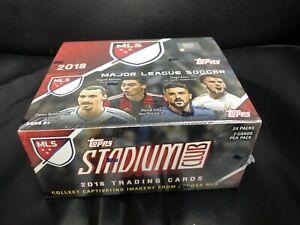 MLS Soccer Topps 2018 Major League Soccer Trading Card Retail Box.~24pk/7 Cards.