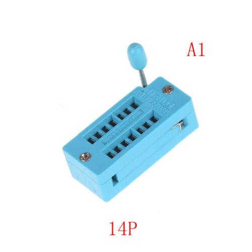 14//16//18//20//24//28//32//40 pin IC Test Universal ZIF Socket  L bgCRUK