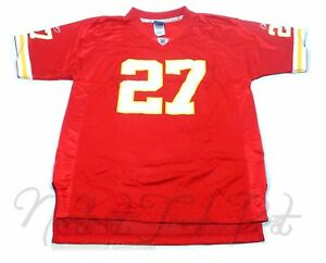 3f7d8a4dc74 NFL Reebok L. Johnson Kansas City Chiefs Red Yellow #27 Jersey Size ...