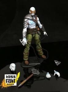 Vitruvian H.A.C.K.S Boss Fight Action Figure NIB 200502 Darsalk Half-Orc Mage