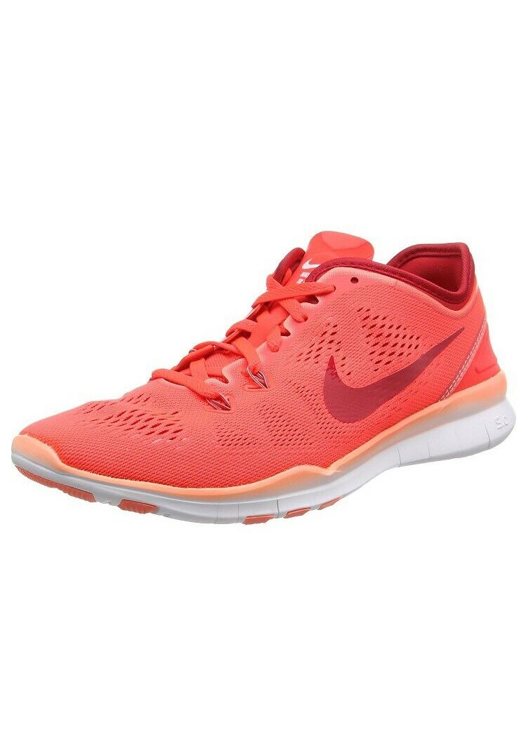 Nike  Free 5.0 TR 5 Women's Running Shoes Br-Crimson/AtomicPink 704674 601