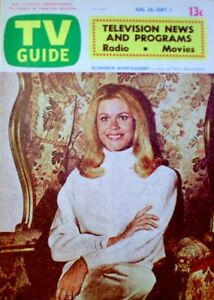 TV Guide 1972 Bewitched Elizabeth Montgomery South Australia