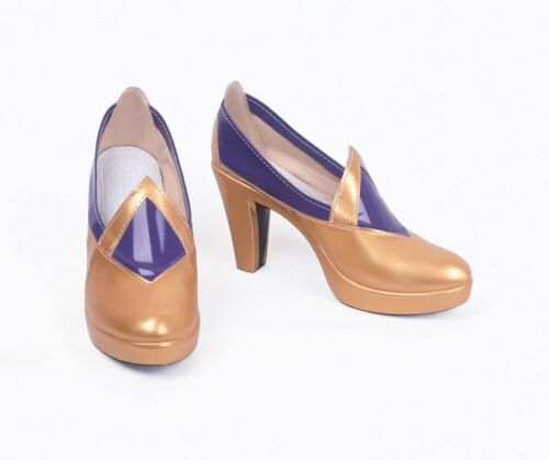 Game LOL Syndra Star Guardian Cosplay Boots Shoes Custom Made!free shipping!1