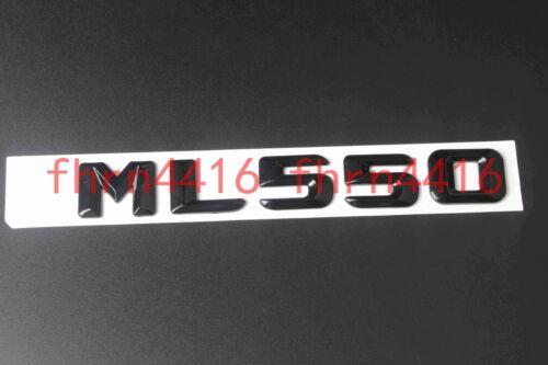 Gloss Black ML550 Letters Trunk Emblem Badge Sticker for Mercedes Benz ML550