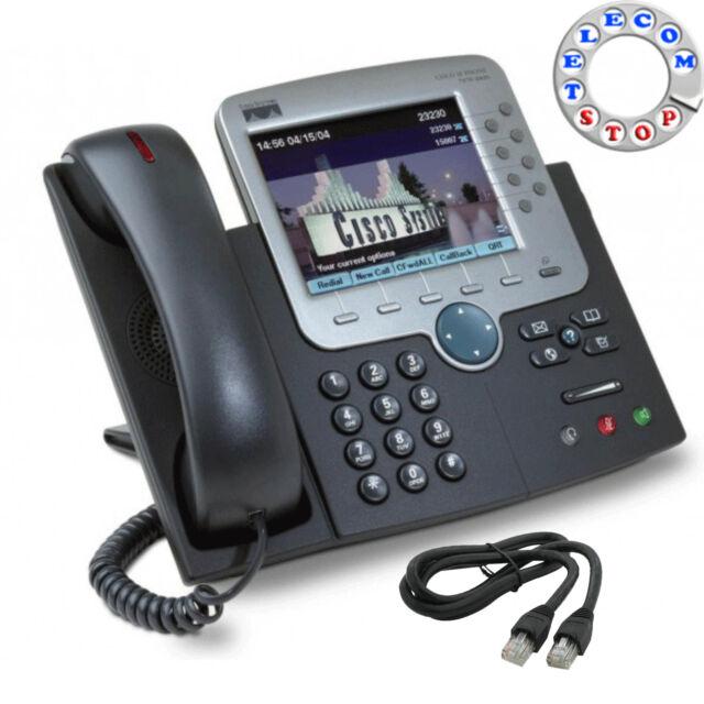 Cisco CP-7975G écran Tactile Unified IP téléphone-Inc de garantie-Livraison Gratuite Au Royaume-Uni