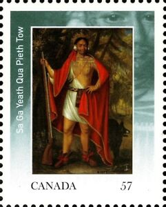 Canada-2381-FOUR-INDIAN-KINGS-VFNH-Brand-New-2010-Pristine-Gum-Issue