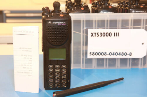 Motorola XTS3000 III 800MHz XTS 3000 Astro P25  H38 9600 baud