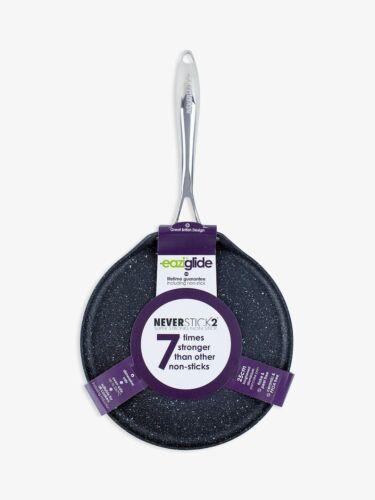 Eaziglide 25cm Non-Stick Pancake Pan Black