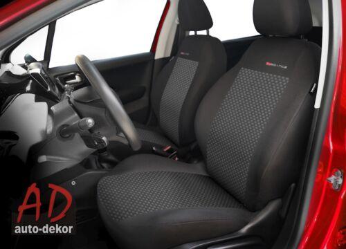 Audi A3 2x Frontal Terciopelo P3-3 Fundas de Asiento Funda de Asiento Coche