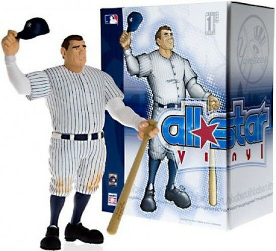 MLB All Star Vinyl Babe Ruth Vinyl Figure [White Pinstripes Jersey]