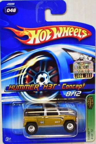 HOT WHEELS 2006 TREASURE HUNT HUMMER H3T CONCEPT #046 FACTORY SEALED