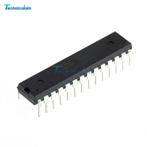 DIP-28 ATMEGA328P-PU Microcontroller IC With ARDUINO UNO R3 Bootloader or Not