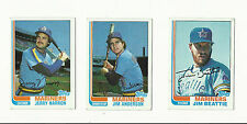 VINTAGE 1982 TOPPS BASEBALL CARDS – SEATTLE MARINERS - MLB