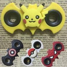Pokemon Hand Spinner Fidget EDC Relief Stress Focus Cartoon Toys Fingertip Gyro